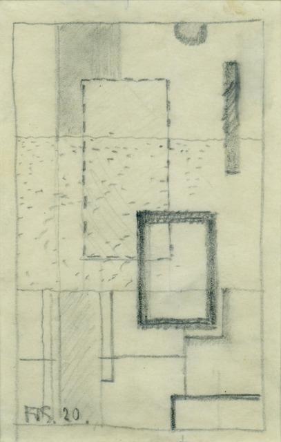 , 'Etüde (D10),' 1920, Annely Juda Fine Art