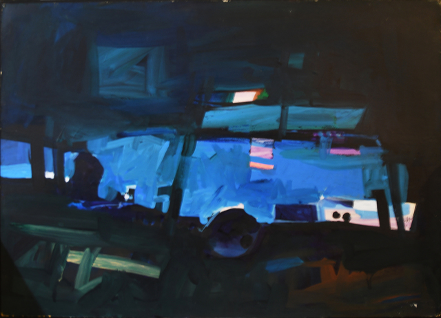 John Hultberg, 'Olean', 1978, Painting, Oil on canvas, Anita Shapolsky Gallery