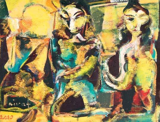 , 'Figures,' 2010, Ararat Gallery