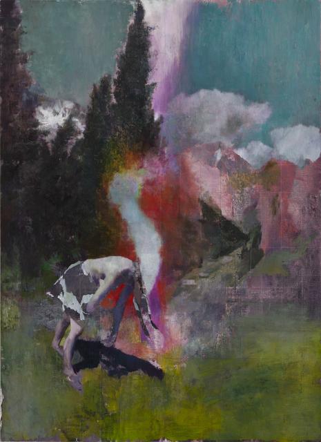 , 'Nes Ziona,' 2014, Parafin