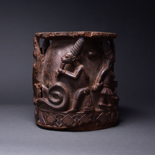 Incredible Unknown African Yoruba Wooden Stool 20Th Century Ad Gmtry Best Dining Table And Chair Ideas Images Gmtryco