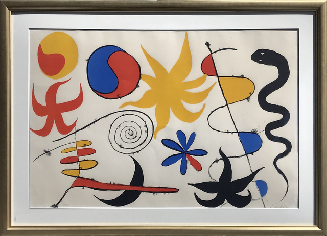 , 'Serpent in the Stars,' 1960, Eckert Fine Art