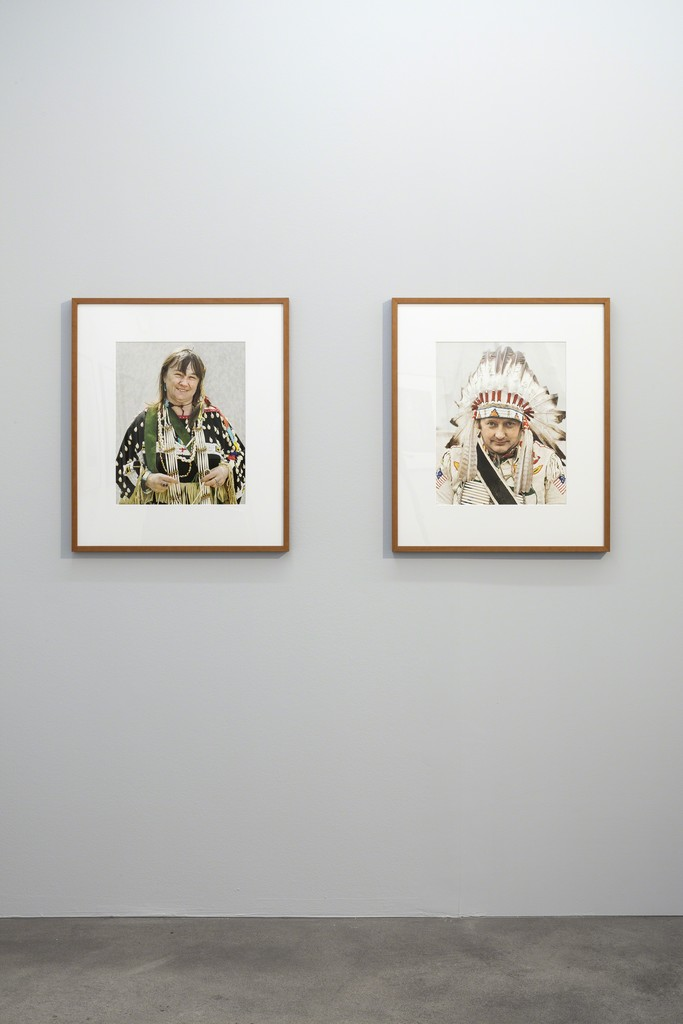 Installation view, Andrea Robbins & Max Becher, 'Nativist Americans' Sprüth Magers Berlin, April 27 - July 27, 2019; Photography: Timo Ohler