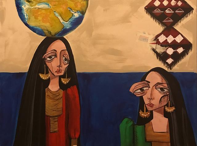 , 'Women / نساء,' 2015, al markhiya gallery