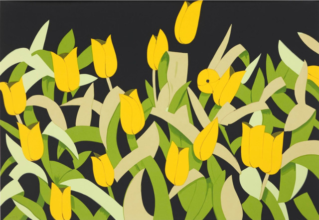 , 'Alex Katz, Yellow Tulips,' 2014, Oliver Cole Gallery