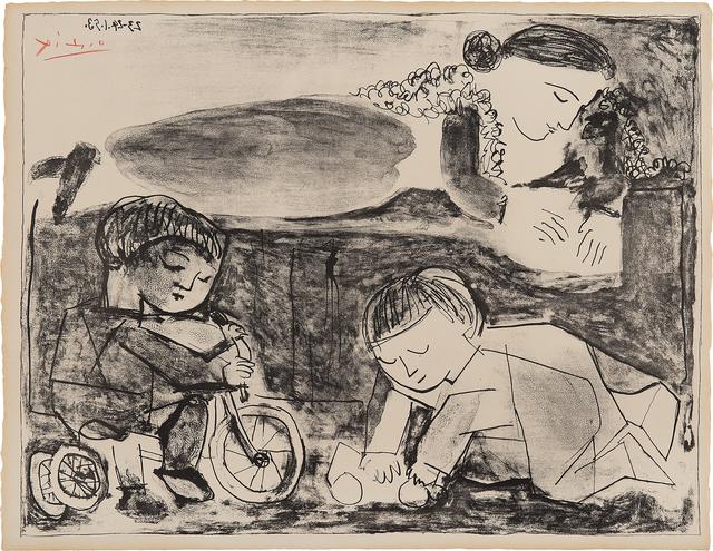 Pablo Picasso, 'Les Jeux et la Lecture (Games and Reading)', 1953, Phillips
