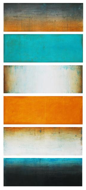 Mark Rediske, 'Ephemeris', 2021, Painting, Mixed media on panel, Foster/White Gallery