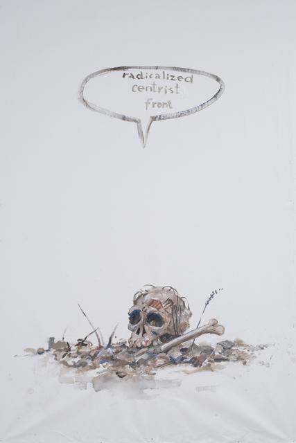 , 'Radicalized centrist front,' 2015, Ruth Benzacar Galería de Arte