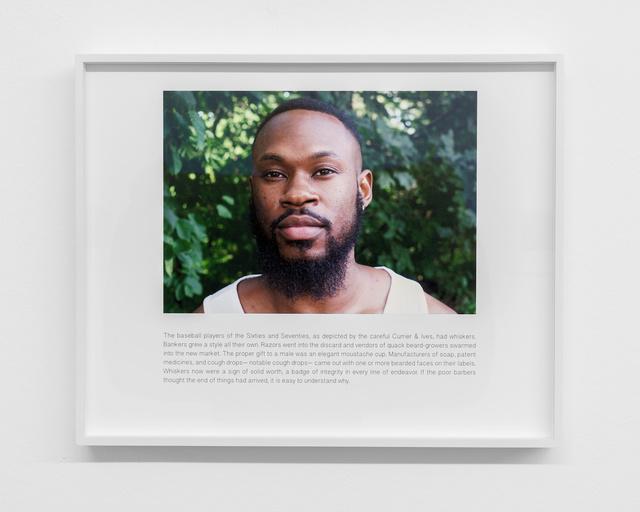 , 'To Joseph Palmer,' 2017, Buchmann Galerie