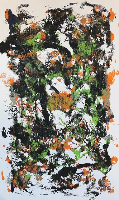Emanuel Buckvar, 'Orange Swirl', 2019, Lawrence Fine Art