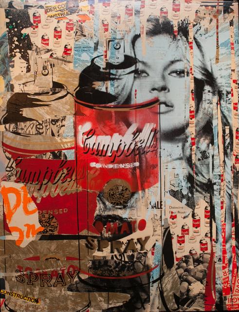 , 'Kate Moss,' 2011, Fischtein Fine Art