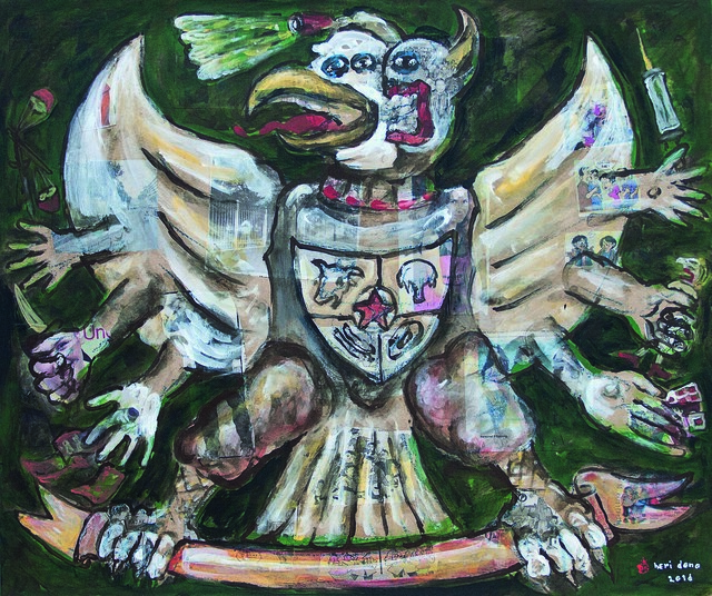 , 'The Garuda,' 2016, Mizuma Art Gallery