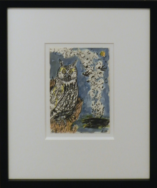 , 'Great Horned Owl,' 2015, William Campbell Contemporary Art, Inc.