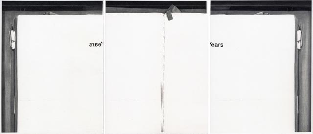 , 'Years,' 2015, Galerie Thomas Zander