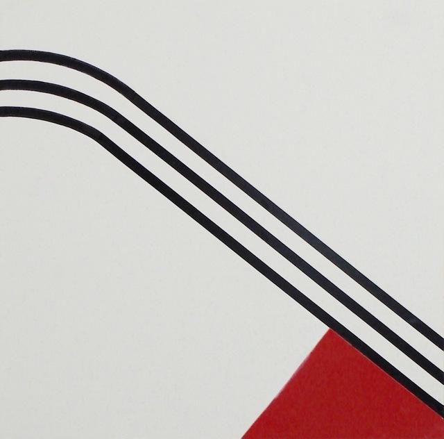 , 'Gebogener Anlauf,' 1989, SMUDAJESCHECK