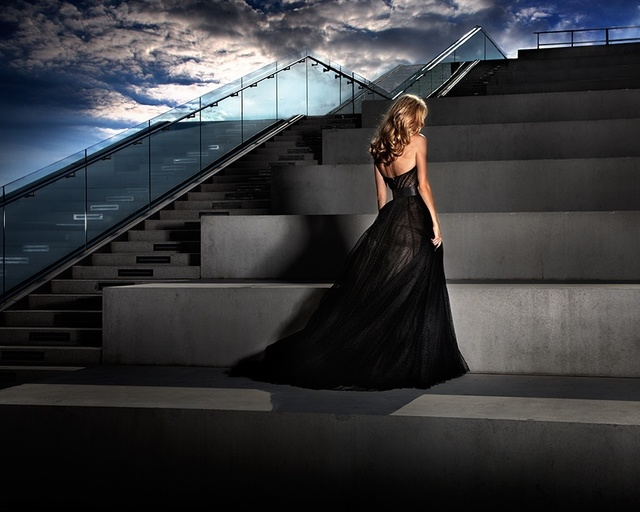 David Drebin, 'The Girl In The Black Dress', 2011, Isabella Garrucho Fine Art