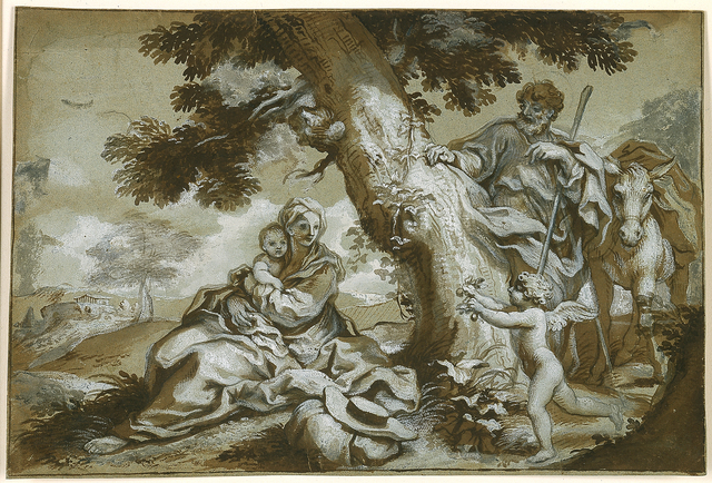 Paolo Gerolamo Piola, 'The Rest on the Flight into Egypt', 1690, Blanton Museum of Art