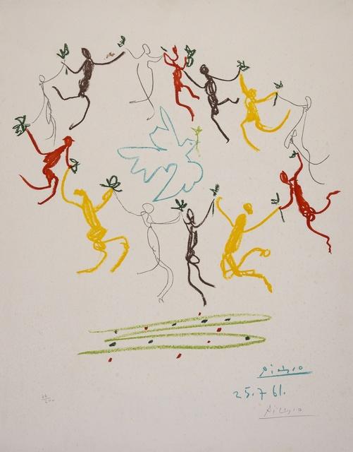 Pablo Picasso, 'La Ronde de la Jeunesse', Print, Lithograph printed in colours, Forum Auctions