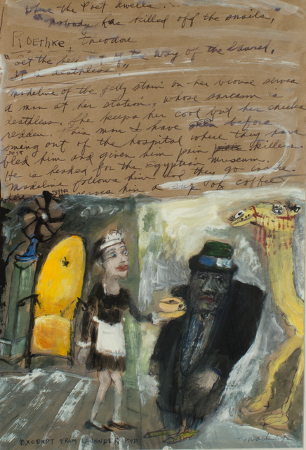 James Martin, 'Exceprt From Lavender Eye', 1992, Foster/White Gallery