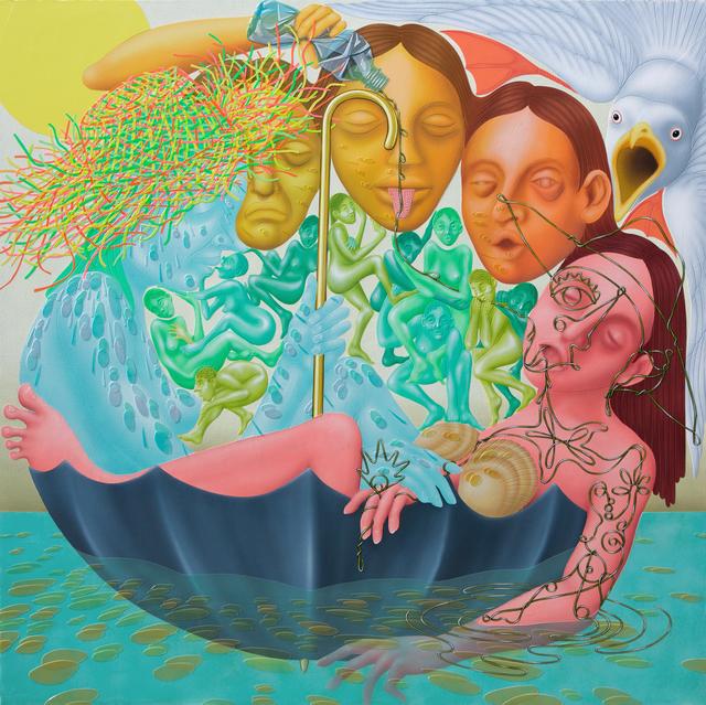 , 'Liminal Lady,' 2017, Shulamit Nazarian