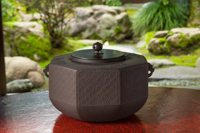 , 'Octagonal Tea Kettle with Pine, Bamboo and Plum Patterns,' 2005, Onishi Gallery