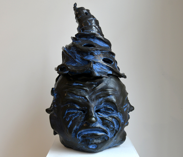 , 'Blue Buddha,' 2015, Carter Burden Gallery