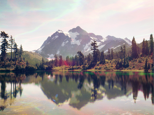 Peter Funch, 'Mt. Shuksan from Mt. Baker Lodge Lakes', 2014, V1 Gallery