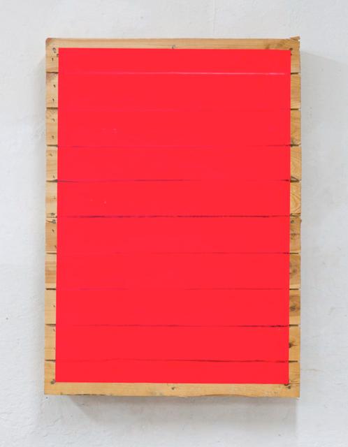 , 'Luminous red stripes,' 2016, Mai 36 Galerie
