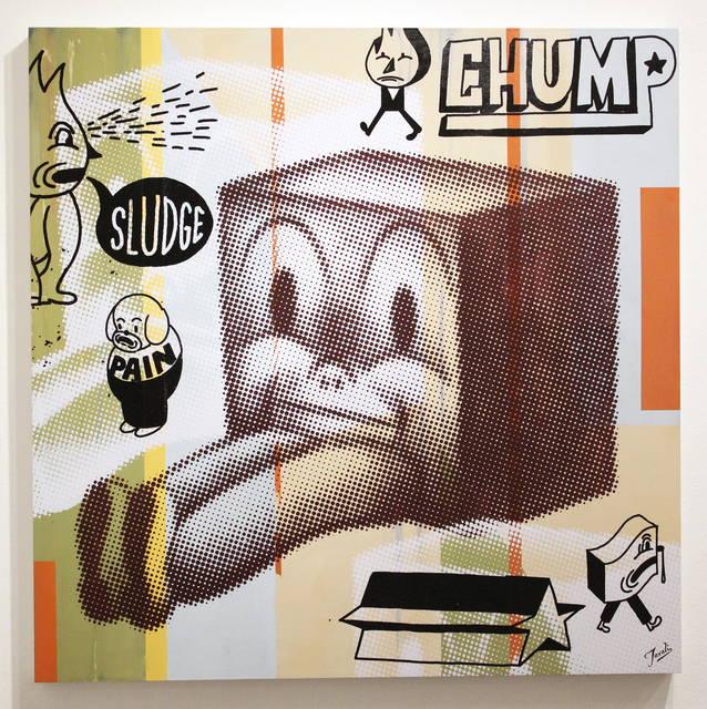 , 'Sludge,' 2015, Galerie Matthew Namour