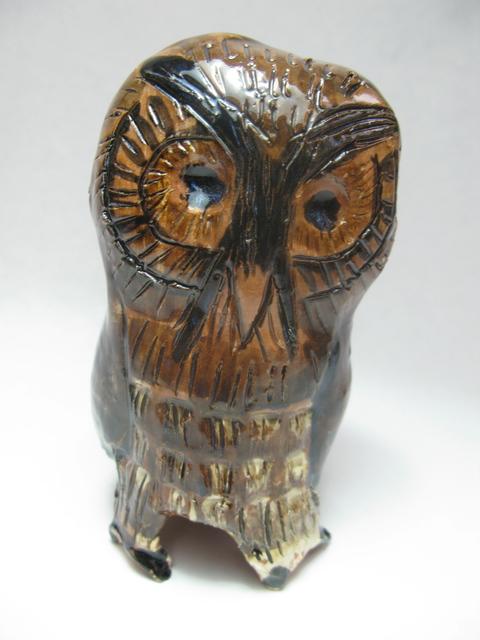 , 'Terracotta Owl 3,' 2017, Rebecca Hossack Art Gallery