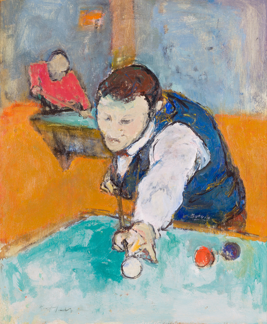 , 'Billiard Player,' ca. 1930, Childs Gallery