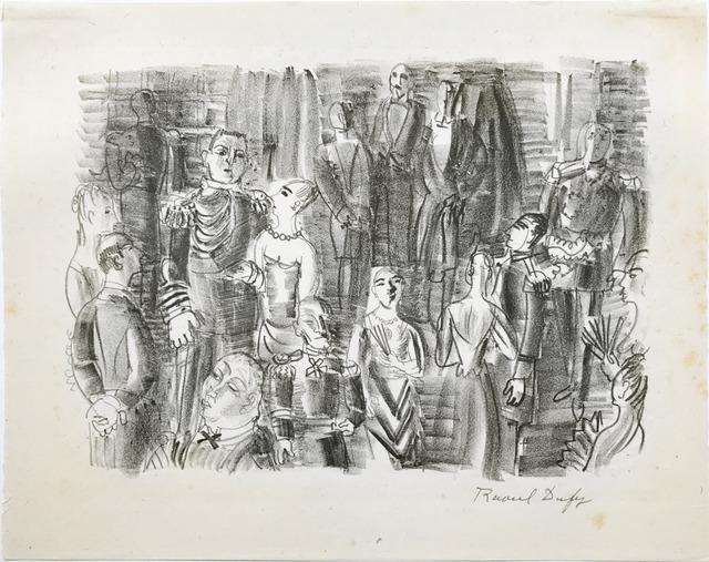 Raoul Dufy, 'Le Bal chez L'Amiral ', ca. 1925, Fairhead Fine Art Limited