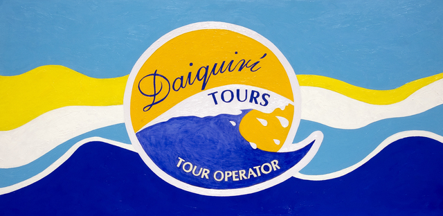 , 'Daiquiri Tours (Sponsor serie),' 2009, GALERIE GEORGES-PHILIPPE ET NATHALIE VALLOIS