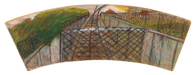 , 'Train Track Landscape,' 2011, Creativity Explored