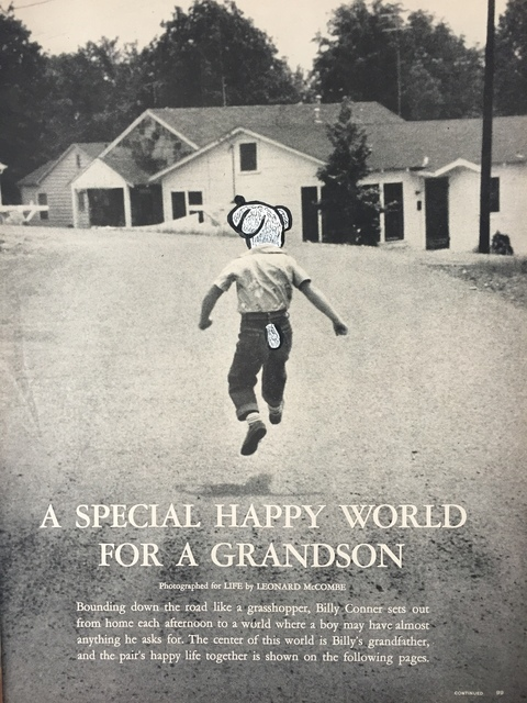 , 'A Special Happy World For a Grandson,' 2017, India Dickinson