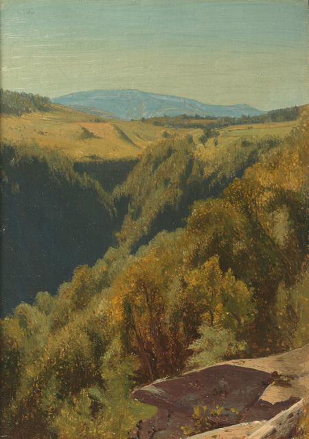 , 'Summer Hills, Hunter Mountain,' 1867, Questroyal Fine Art