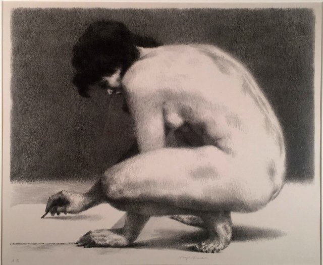 , 'NUDE DRAWING,' 1963, Edward T. Pollack Fine Arts