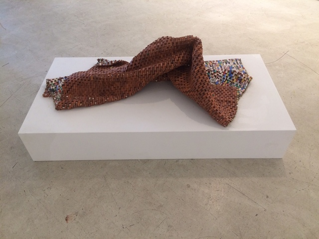 , 'Lifeline with Colored Bricks,' 2015, Leila Heller Gallery