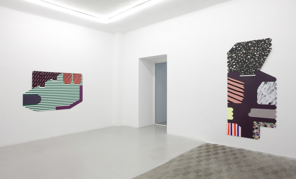 Ruth Root. Installation view at Galería Marta Cervera, 2016