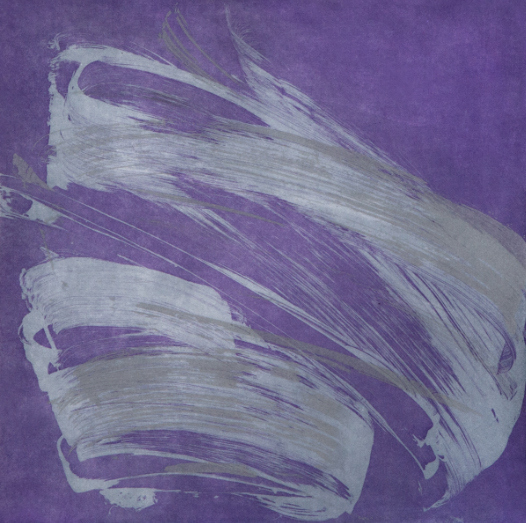 Jill Moser, 'Wingate Set, Violet', 2015, Print, Soap ground, sugar lift, aquatint, Heather Gaudio Fine Art