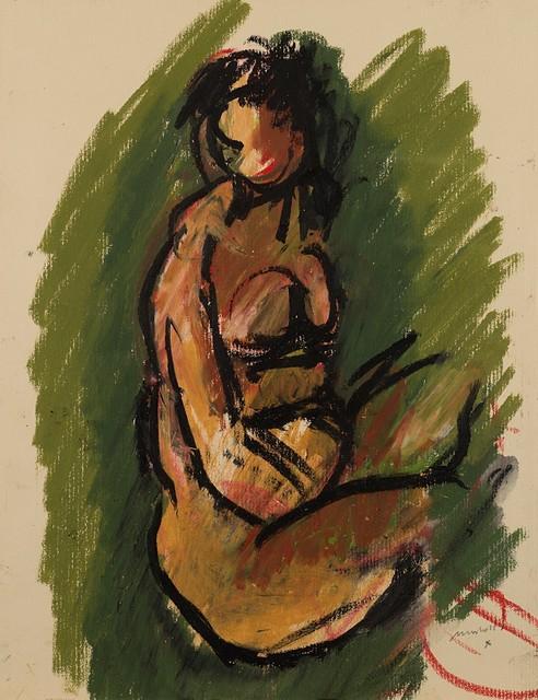 Ennio Morlotti, 'Nudo', Finarte