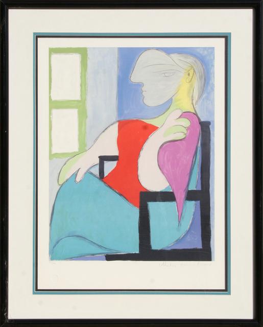 Pablo Picasso, 'Femme Assise Pres d'Une Fenetre, 5-D', 1979-1982, RoGallery