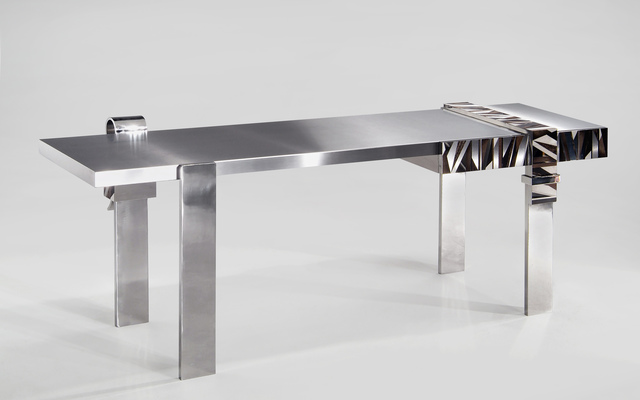 , 'Bureau Marqueterie / Marquetry Desk,' 2005, Demisch Danant