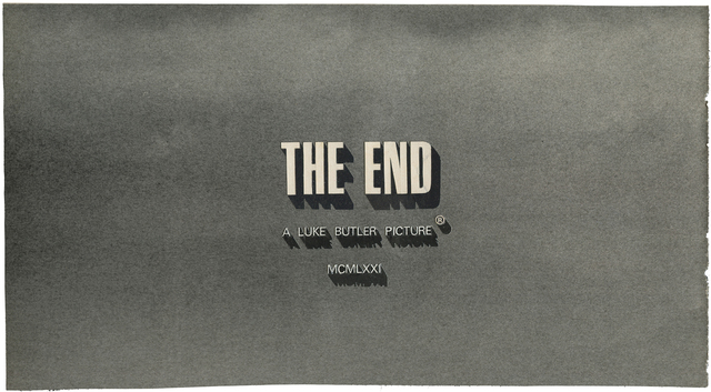 , 'The End 52,' 2012, CES Gallery
