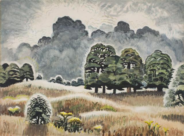 , 'Lightning at Twilight,' 1950-1955, DC Moore Gallery