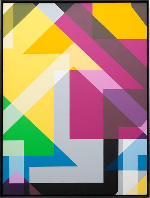 Tavar Zawacki aka ABOVE, 'Incognito Study #7 (X-Large)', 2018, Die Kunstagentin
