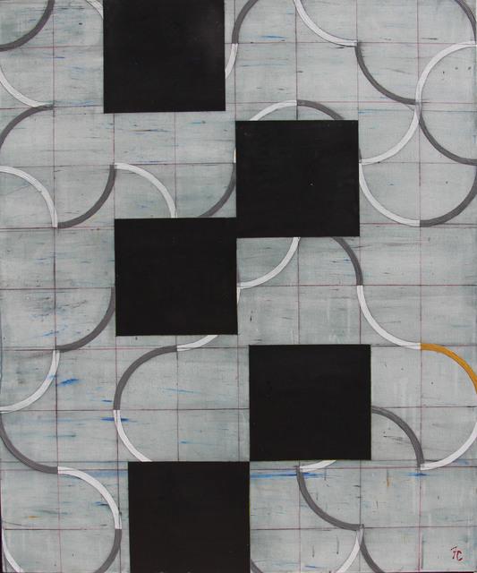 , 'Desplazamiento s/celosia,' 2013, Galería Quetzalli