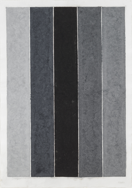 , 'Colored Paper Image IX (Four Grays and Black),' 1976, Susan Sheehan Gallery