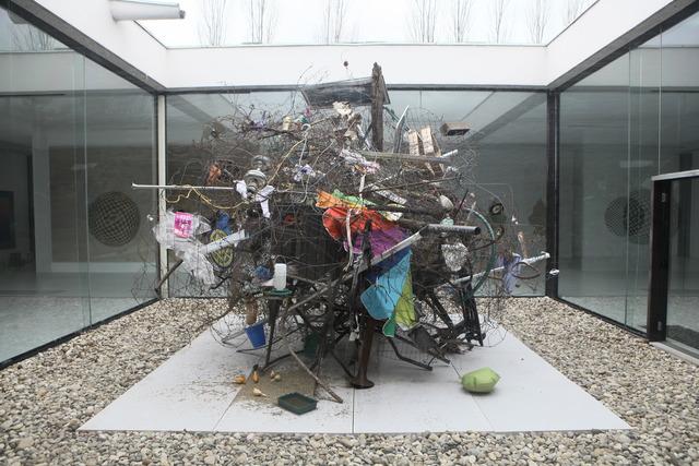 , 'Tumbleweed Sculpture,' 2012-2014, Museum Dhondt-Dhaenens