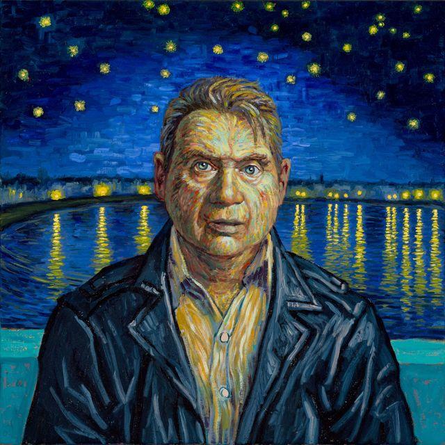 , 'Anachronistic Portrait (Francis/Van Gogh),' 2015, Galerie de Bellefeuille